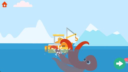 Dinosaur Patrol Boat - Coast Guard Games for kids apkmr screenshots 6