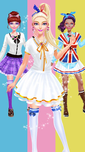 ud83cudfebud83dudc84School Uniform Makeover  screenshots 6