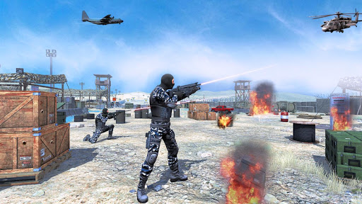 Action shooting games : Commando Games 4.24 screenshots 1