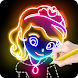 Learn to Draw Princess - Androidアプリ