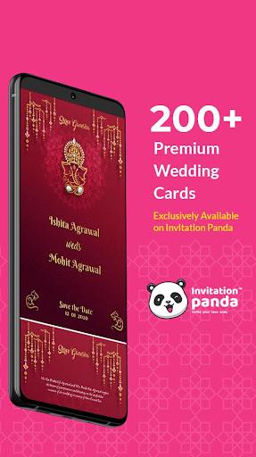 Shaadi & Engagement Card Maker by Invitation Panda 2.0.22 Screenshots 1