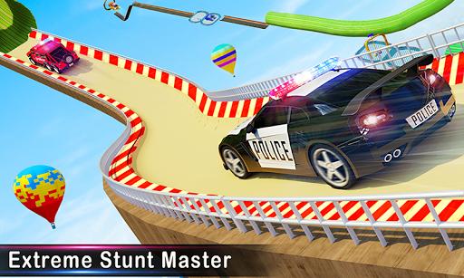 Police Car Stunts Racing: Ramp Car New Stunts Game 2.1.0 Screenshots 3