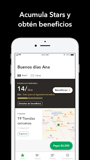 Starbucks Chile 2.0.4 screenshots 1