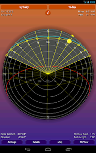 Sun Seeker - Sunrise Sunset Times Tracker, Compass Screenshot