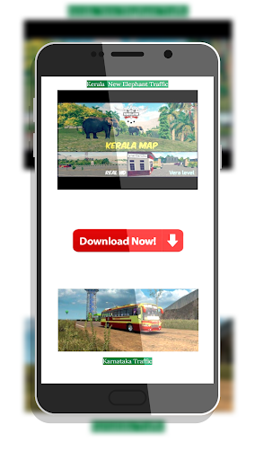 Tamil Bus Mod Livery | Indonesia Bus Simulator 1.2 screenshots 4