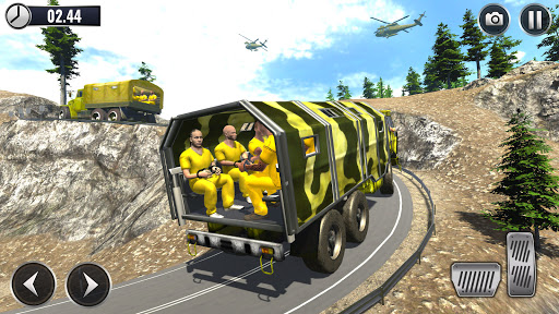 US Army Submarine Driving Military Transport Game screenshots 12