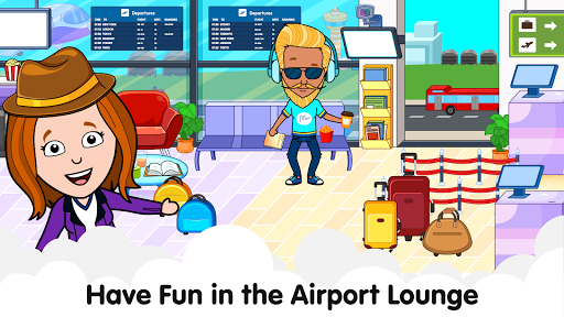 My Airport Town: Kids City Airplane Games for Free 1.6.1 Screenshots 4