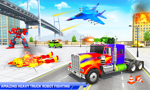 Police Truck Transform Robot 51 Screenshots 3