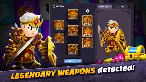 AFK Dungeon : Idle Action RPG android2mod screenshots 3