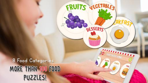 Food Puzzle for Kids: Preschool  screenshots 3