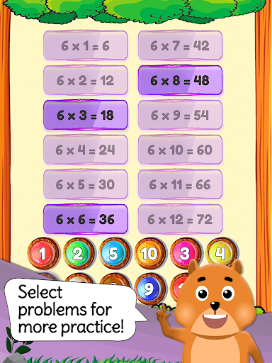 Times Tables: Mental Math Games for Kids Free  screenshots 15