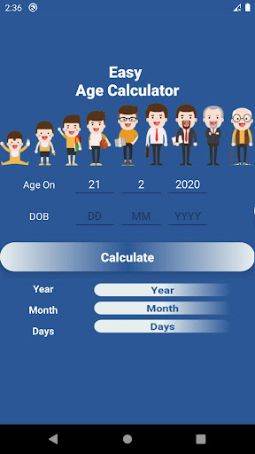 Easy Age Calculator  screenshots 13