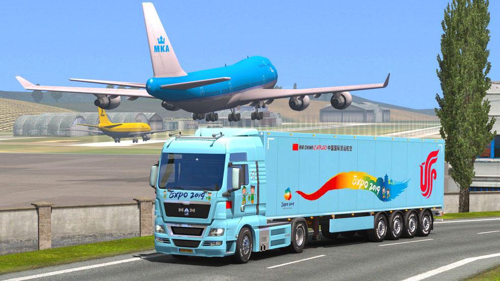 Screenshot 12 de Euro Cargo Truck Simulator 2020 : Driving Master para android