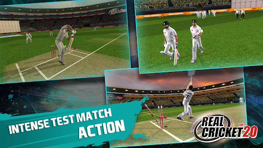 Real Cricket 20 MOD APK 4.5 (Unlocked Everything) 5