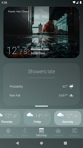 How is the Weather - Different, Simple & No Ads v17_24.01 Screenshots 4