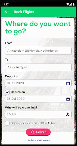 Transavia apktram screenshots 2