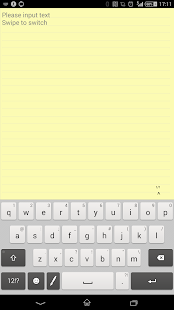 Techo Note (memo /sticky note) Screenshot