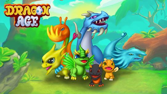 Dragon Paradise City: Breeding War Game Mod Apk 1.3.50 (Unlimited Gold/Gems/Food) 4