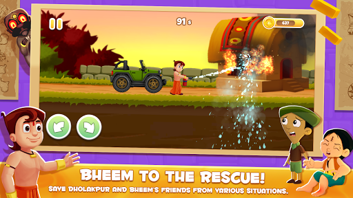 Chhota Bheem Speed Racing - Official Game modavailable screenshots 2
