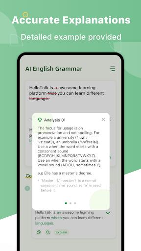 AI Grammar Checker for English - Correct Spelling 1.3.3 Screenshots 2
