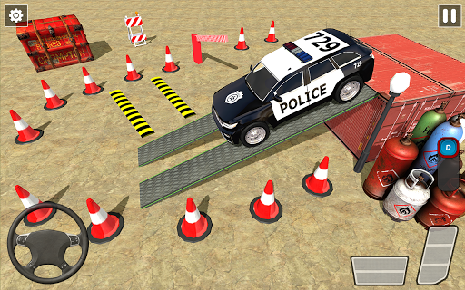 Crazy Traffic Police Car Parking Simulator 2020 screenshots 2