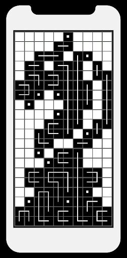FCross Link-A-Pix puzzles 257 screenshots 5