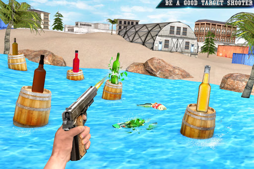 Real Bottle Shooting Free Games: 3D Shooting Games 20.6.0 screenshots 1