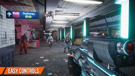 Dead Target MOD APK: Zombie Offline – Shooting Games [Unlimited Guns, Gold, Cash] 3