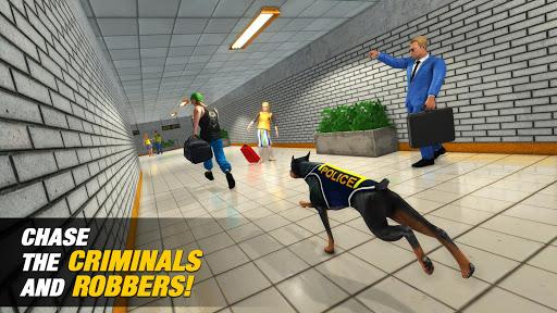 US Police Dog Subway Simulator Gamesu2013Crime Chase 1.0.14 screenshots 5