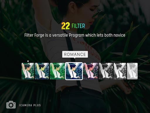 iCamera Plus - a pro camera style like OS12  Screenshots 2