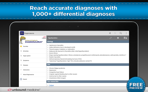 Diagnosaurus DDx 2.7.80 screenshots 6