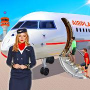US Airplane Flight Pilot Simulator: American Plane
