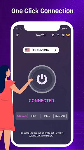 VPN King - Free VPN Proxy Server & Secure VPN App apktram screenshots 1