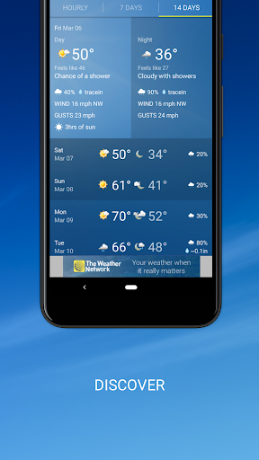 The Weather Network: Local Forecasts & Radar Maps screenshots 3