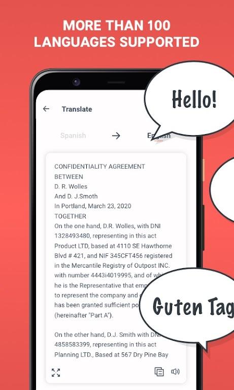 Scan & Translate+ Text Grabber  poster 2