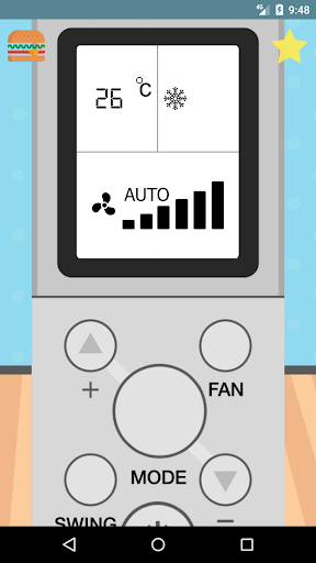 remote control for aux air conditioner screenshot 2