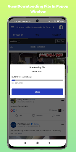 DownVid - Video Downloader for Facebook hack tool