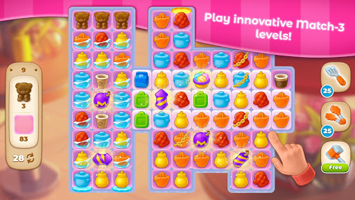 Grand Cafe Storyuff0dNew Puzzle Match-3 Game 2021 2.0.26.1 screenshots 6