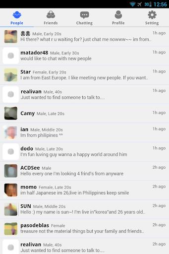 Friends Talk - Chat,Meet New People  screenshots 1