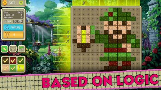 picture cross simple mosaics screenshot 2
