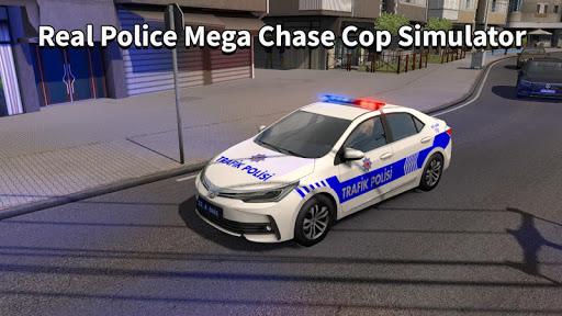 Police Car Chase Thief Real Police Cop Simulator screenshots 2
