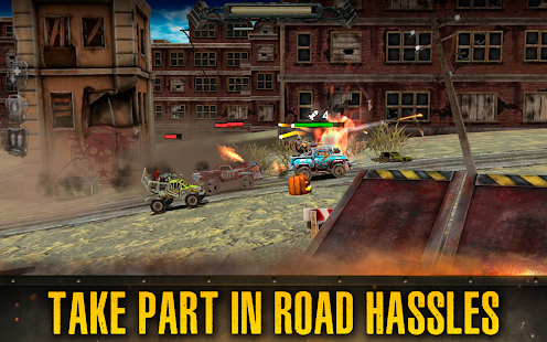 Dead Paradise: Race Shooter Screenshot