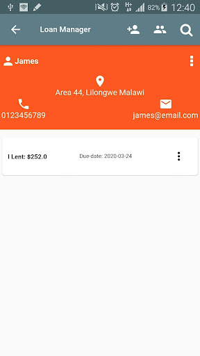 Loan Manager  Screenshots 2