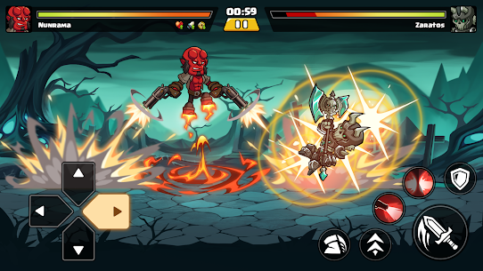 Brawl Fighter – Super Warriors Fighting Game Apk Download NEW 2021 5