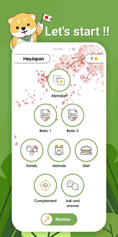 Learn basic Japanese Word and Grammar - HeyJapan  poster 1