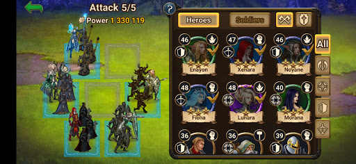 Chaos Lords: Stronghold Kingdom - Medieval RPG War screenshots 21