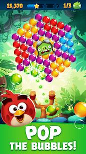 لعبة Angry Birds POP Bubble Shooter مهكرة Mod 1
