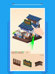 Pocket World 3D - Assemble models unique puzzle Screenshot