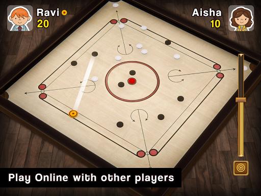 Carrom Multiplayer - 3D Carrom Board Games Offline  screenshots 3