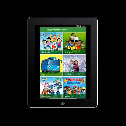 Belajar Mewarnai Gambar Kartun Untuk Anaku2013Infokuu  Screenshots 16